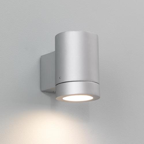 Välisvalgusti Porto Plus, 1x11W GU10, IP44, CFL luminofoor valgusallikas komplektis, hõbedane