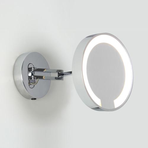 Catena 1x22W T5 5xsuurendusega reguleeritav valgustatud peegel, IP44 lülitiga