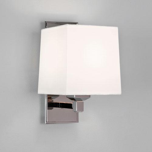 Lambro 220 1x60W E14, seinavalgusti varjuta, poleeritud nikkel