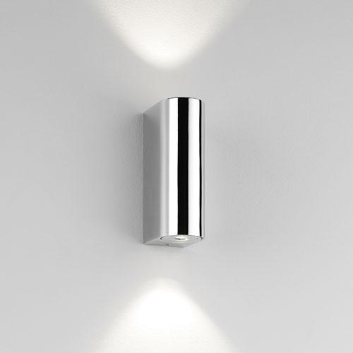 Alba 2x1W LED 230V IP44, niiskuskindel välisvalgusti / vannituppa seinale