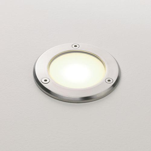 Terra LED 1x2,4W 230V, 3000K, LED liiteseade komplektis, välisvalgusti süvistatud põrandasse/pinnasesse