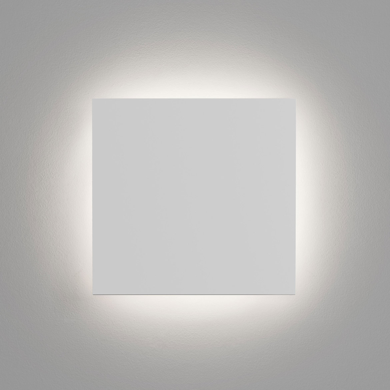 Eclipse Square 300 LED 15,1W 716lm 3000K IP20 seinavalgusti, kips