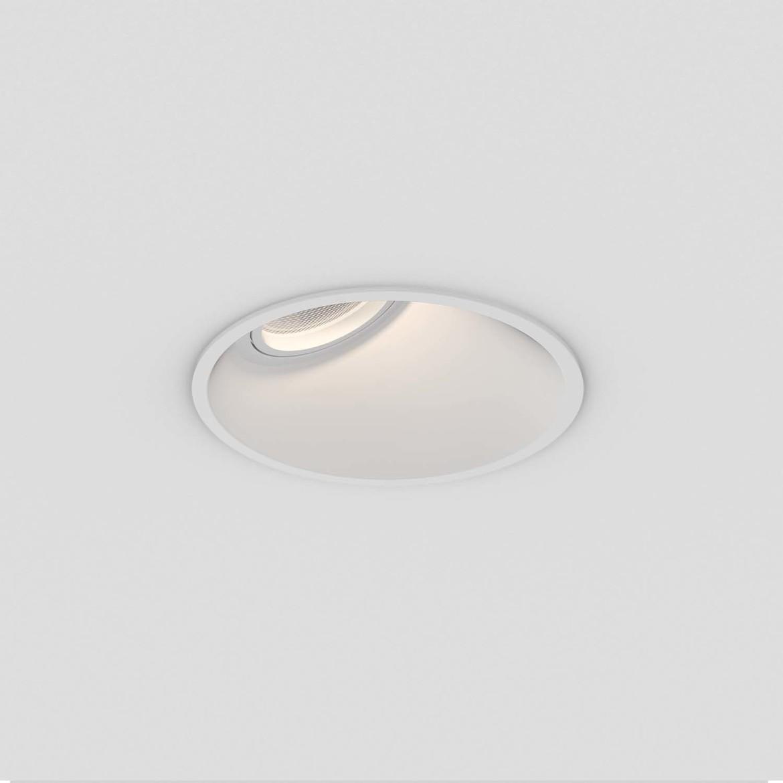 Minima Round 25° Max 6W GU10 LED IP20 süvisvalgusti, hämardatav, matt valge
