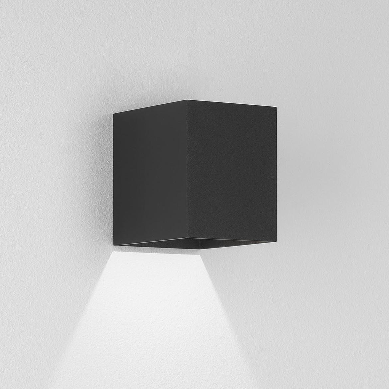 Kinzo 110 LED 5,9W 167lm 2700K IP20 seinavalgusti, hämardatav, must