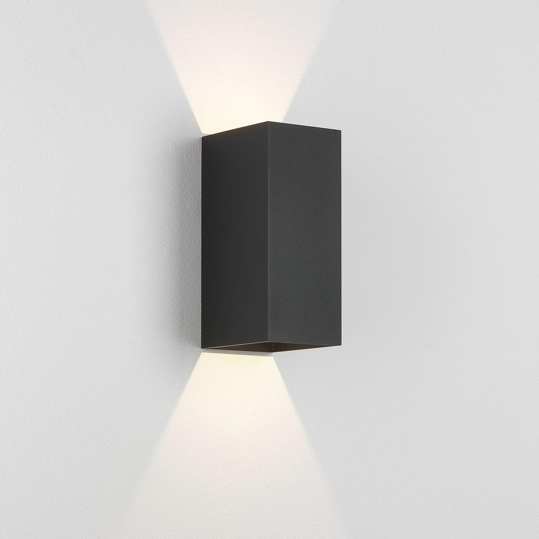 Kinzo 210 LED 11,6W 322lm 2700K IP20 seinavalgusti, hämardatav, must