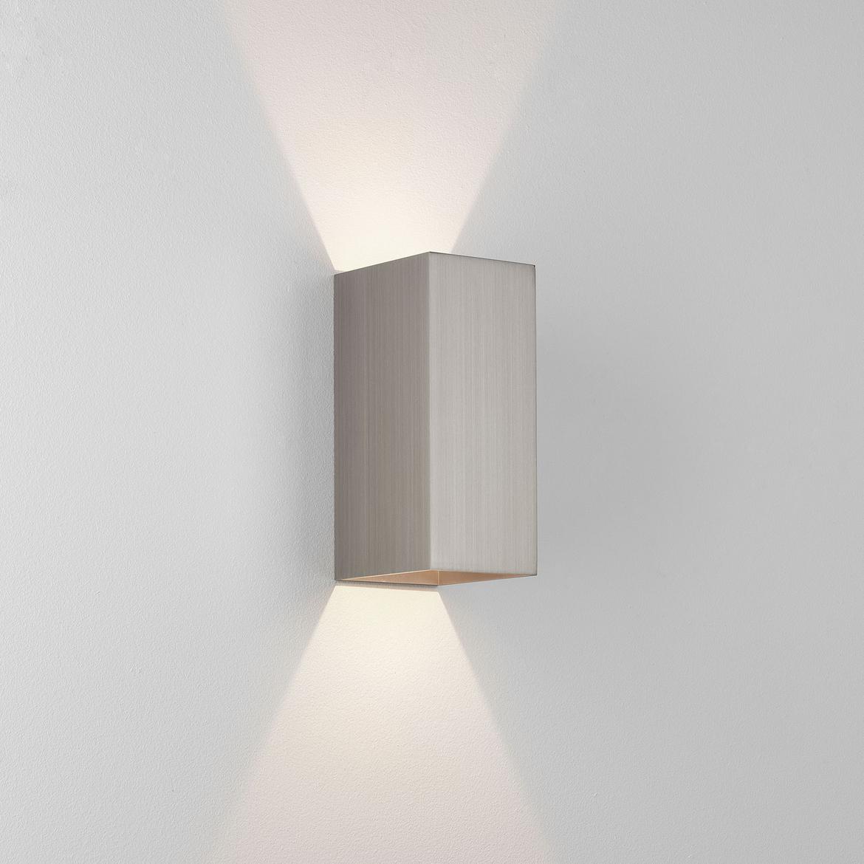 Kinzo 210 LED 11,6W 677lm 2700K IP20 seinavalgusti, hämardatav, matt nikkel