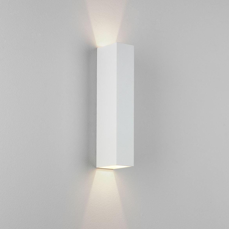 Kinzo 300 LED 11,7W 280lm 2700K IP20 seinavalgusti, hämardatav, valge