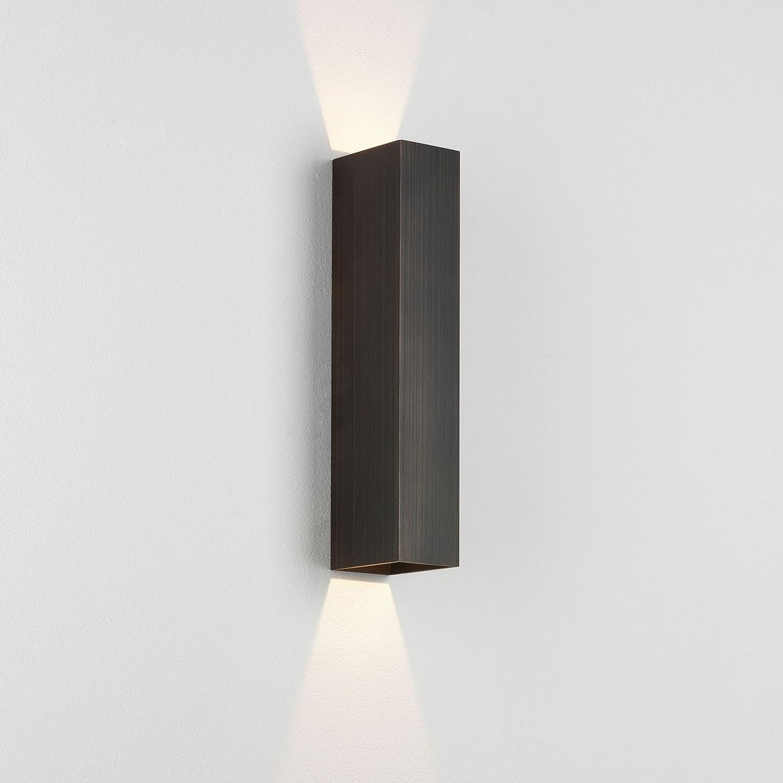 Kinzo 300 LED 11,7W 186lm 2700K IP20 seinavalgusti, hämardatav, pronks