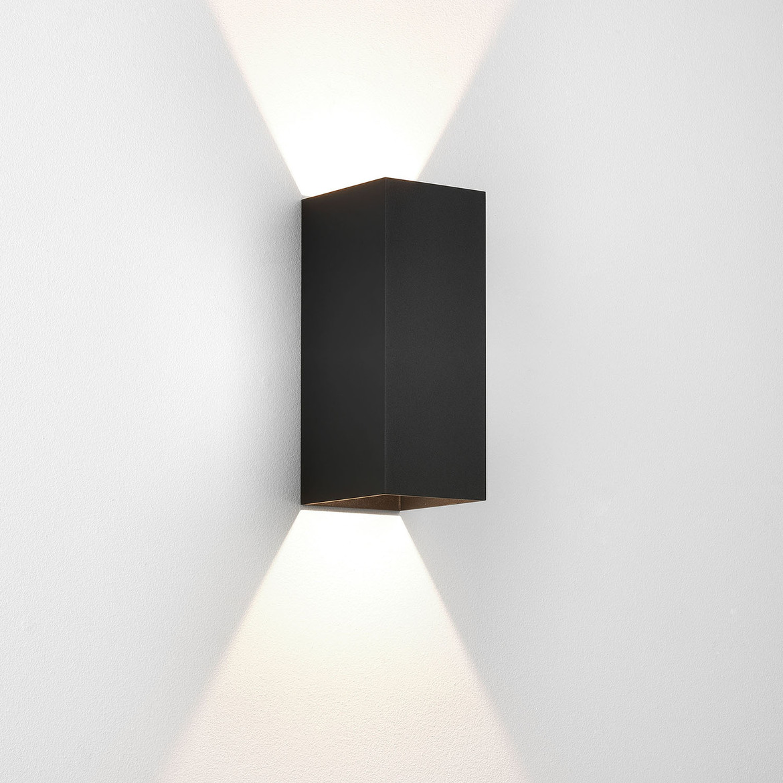 Kinzo 260 LED 15,1W 449lm 2700K IP20 seinavalgusti, hämardatav, must