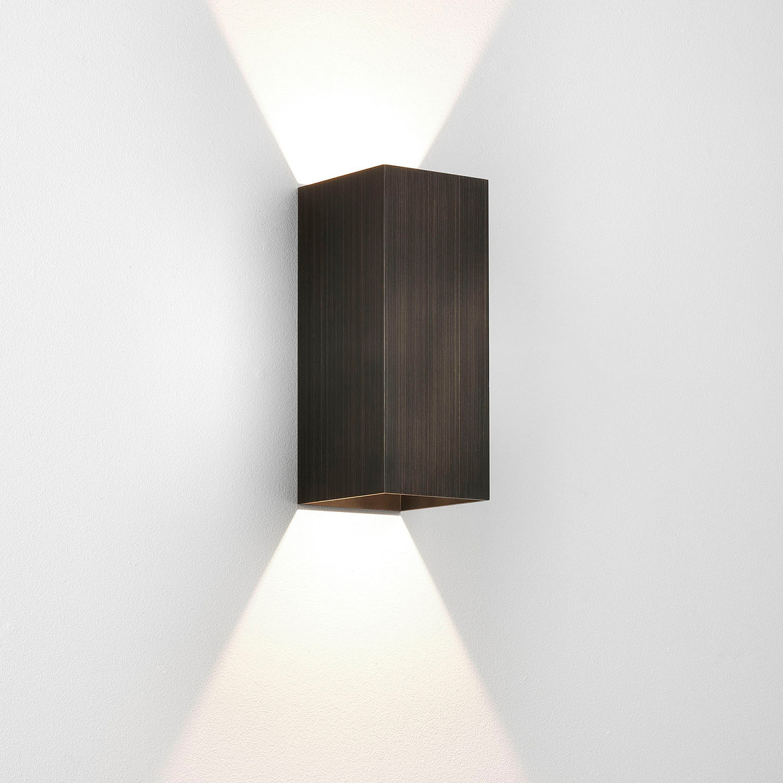 Kinzo 260 LED 15,1W 449lm 2700K IP20 seinavalgusti, hämardatav, pronks