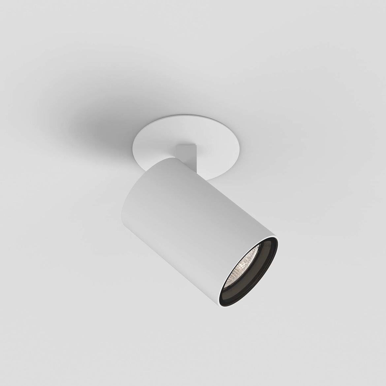 Aqua Recessed Max 6W GU10 LED IP44 süvistatav kohtvalgusti, hämardatav, matt valge