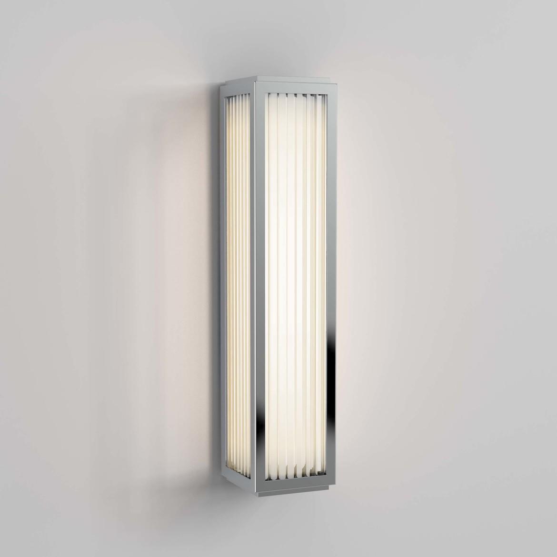 Boston 370 LED 13,9W 465lm 3000K IP44 seinavalgusti, poleeritud kroom, klaasist hajuti