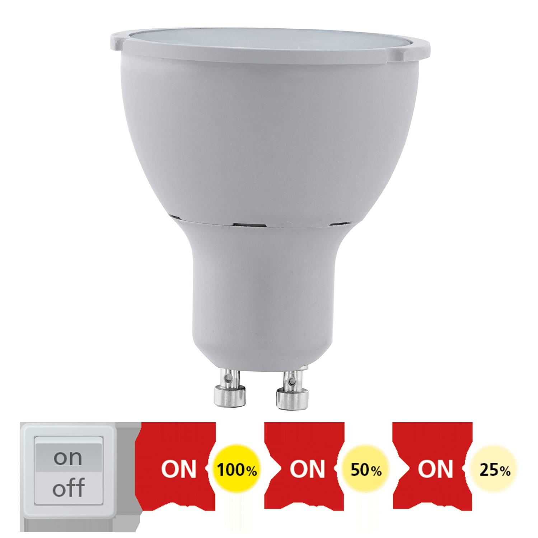 GU10 LED 5W 400lm 3000K 30° STEP-DIMMING