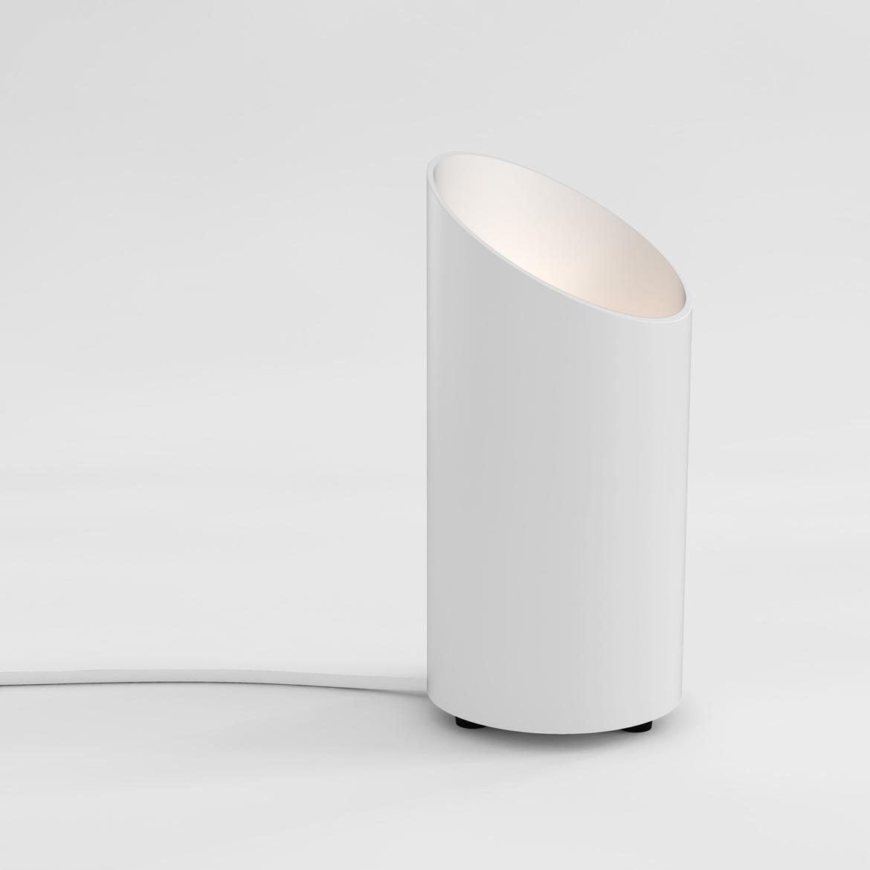 Cut Max 6W GU10 LED IP20 põrandavalgusti, lülitiga, valge