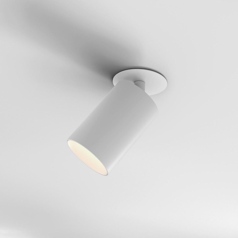 Can 75 Recessed LED 12,6W 986lm 3000K IP20 süvistatav kohtvalgusti, hämardatav, matt valge