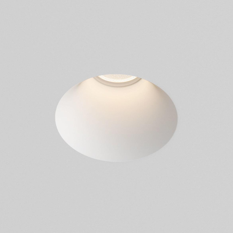 Blanco Round Fixed Max 6W GU10 LED IP20 süvisvalgusti, hämardatav, kips