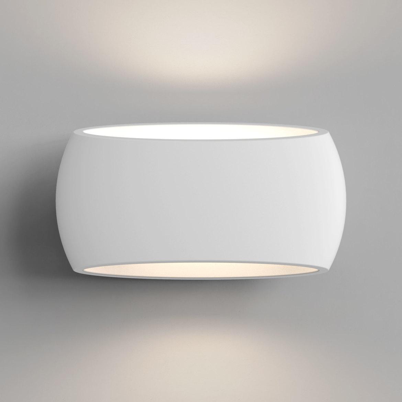 Aria 300 Max 12W E27 LED IP20 seinavalgusti, hämardatav, kips