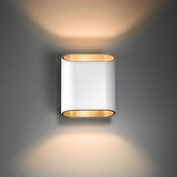 Seinavalgusti Trapz 2x LED 4,3W 587lm 2700K silky grey - champagne, näidis Rävala 7