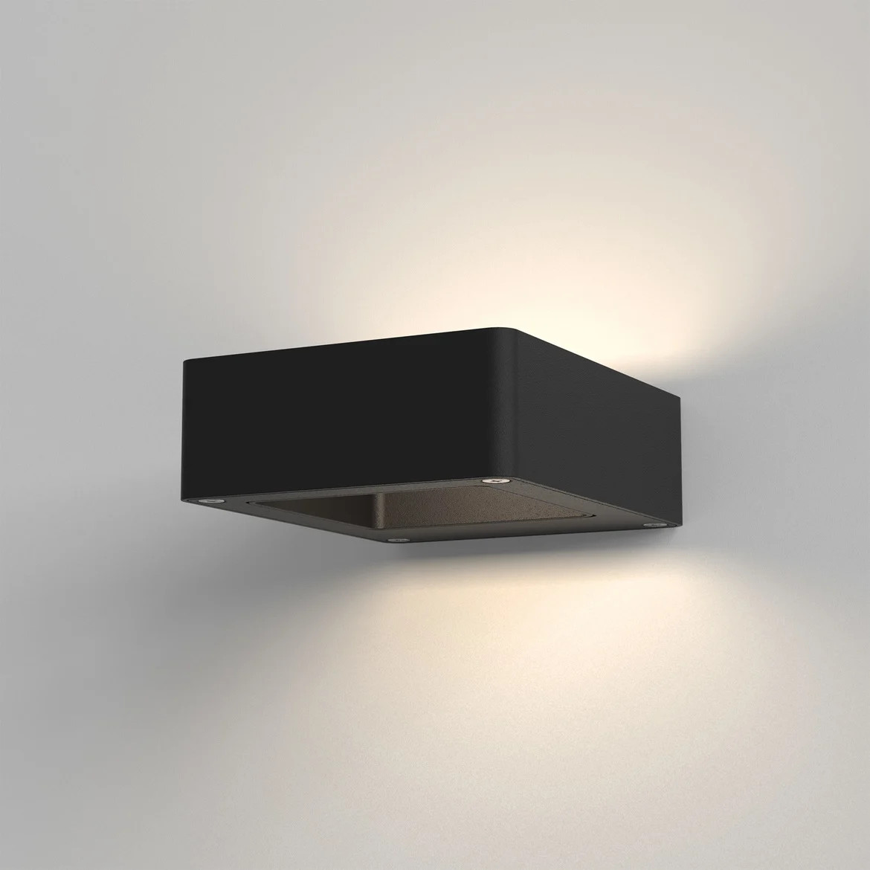 Napier Wall LED 9,1W 258lm 3000K IP54 seinavalgusti, must