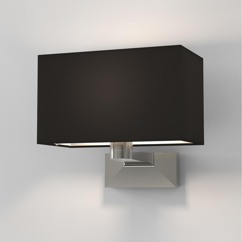 Carmel Grande Max 60W E27 IP20 seinavalgusti, hämardatav, matt nikkel, ilma varjuta (tellida eraldi), mõõdud ilma varjuta