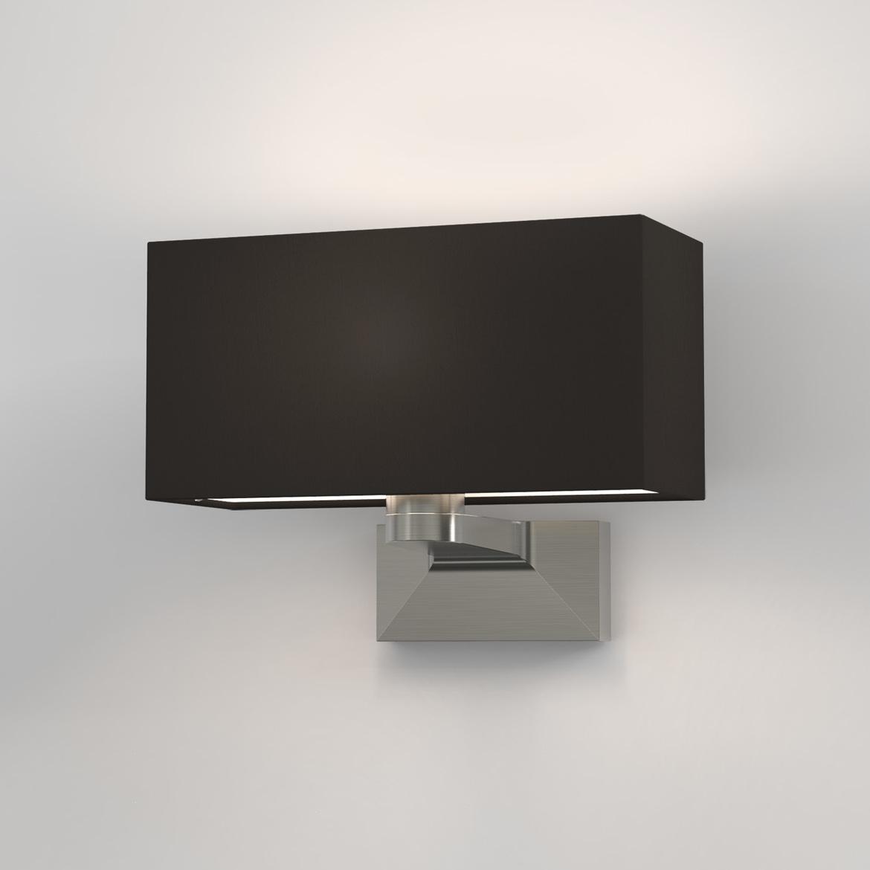 Carmel Max 60W E14 IP20 seinavalgusti, hämardatav, matt nikkel, ilma varjuta (tellida eraldi), mõõdud ilma varjuta