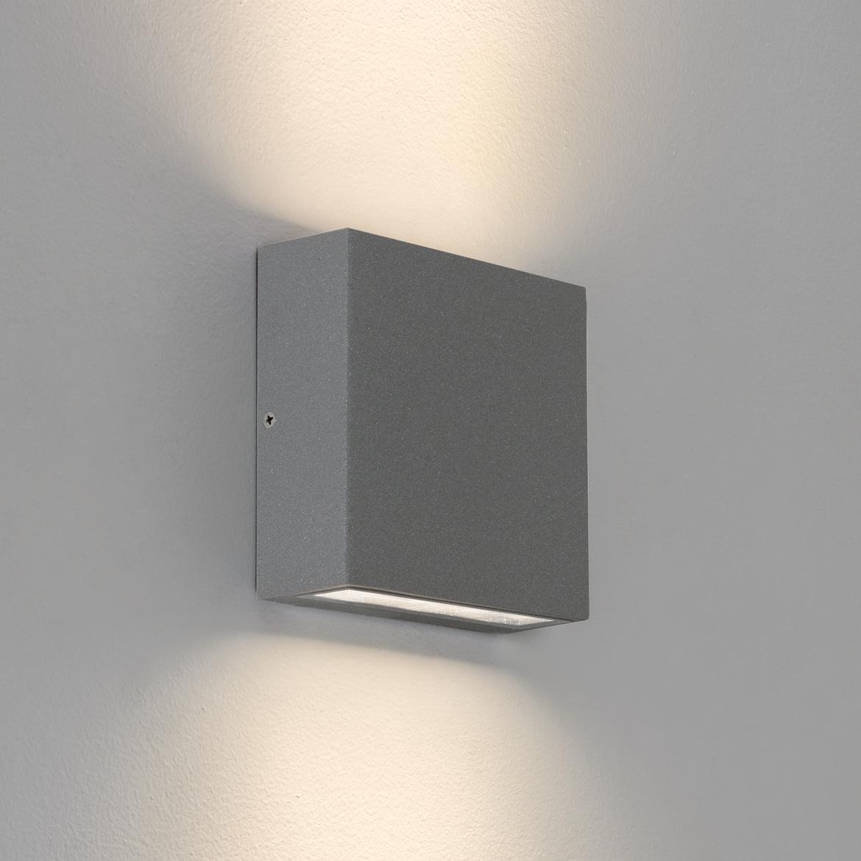 Elis Twin LED 8,2W 524lm 3000K IP54 seina- ja laevalgusti, hall