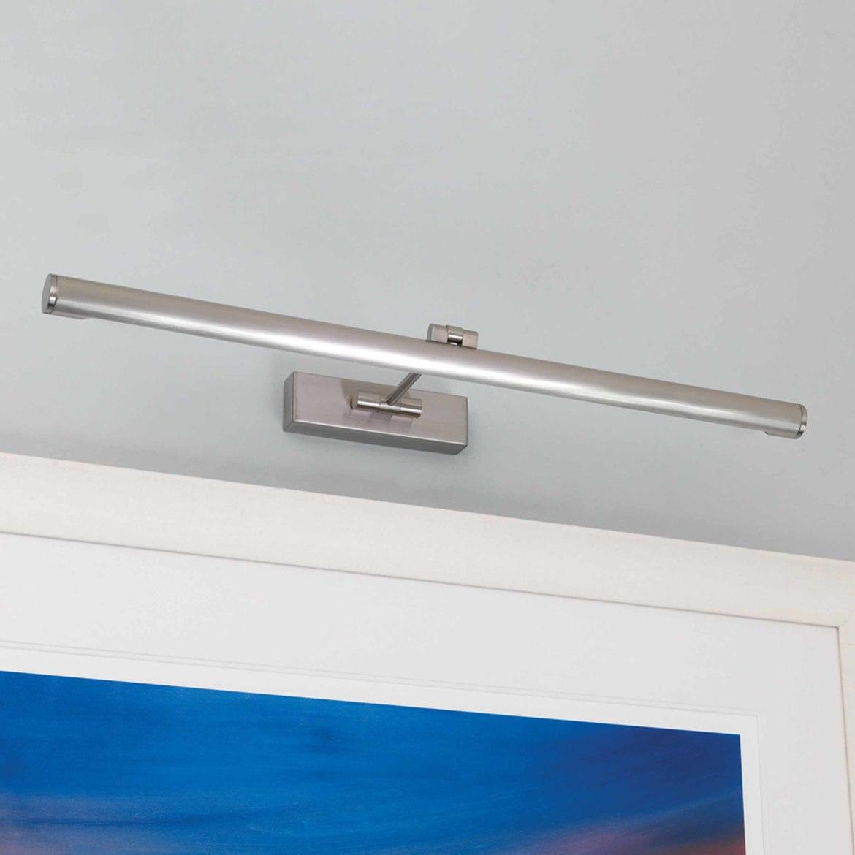 Goya 760 LED 9,6W 1109lm 2700K IP20 pildivalgusti, harjatud nikkel