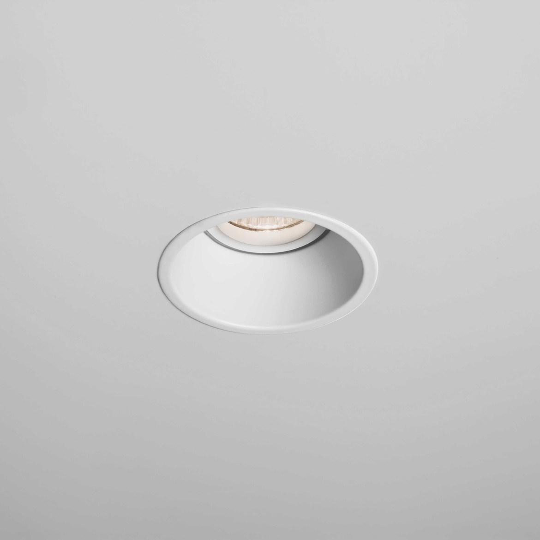 Minima Round Fixed Max 6W GU10 LED IP20 tulekindel süvisvalgusti, hämardatav, matt valge