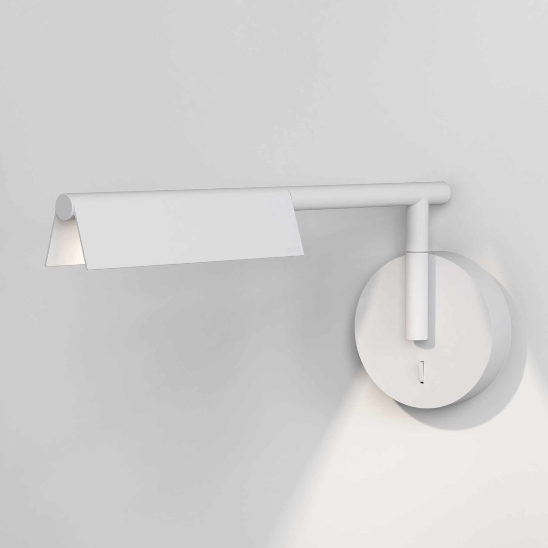 Fold Wall LED 5W 151lm 2700K CRI90 IP20 seinavalgusti, lülitiga, matt valge