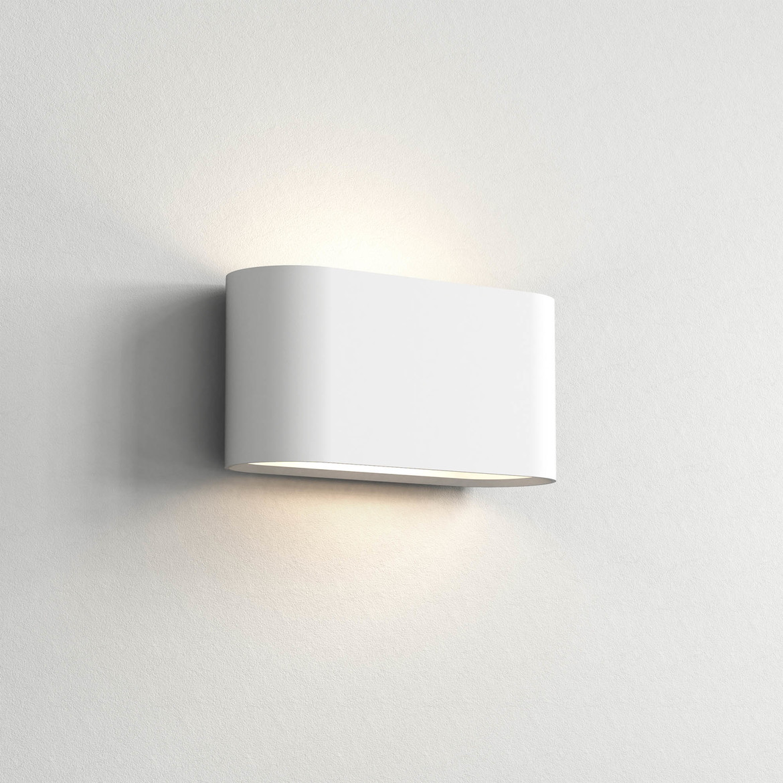 Velo 280 Max 12W E27 LED IP20 seinavalgusti, hämardatav, kips