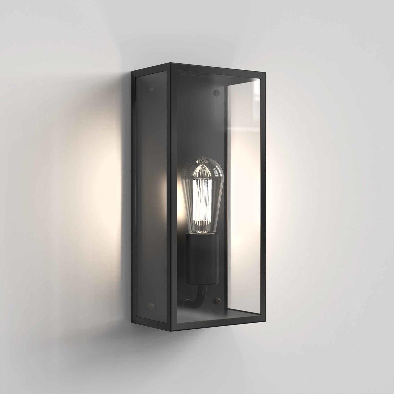 Messina 160 Max 12W E27 LED IP44 välisvalgusti, hämardatav, must