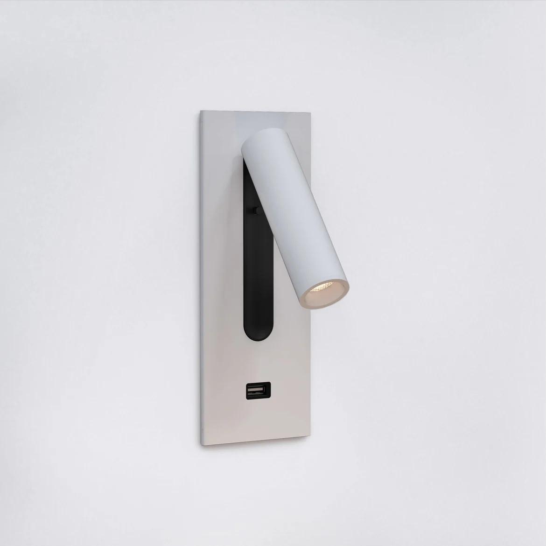 Fuse Usb Switched LED 3,5W 185lm 2700K CRI90 IP20 süvistatav seinavalgusti, lülitiga, matt valge