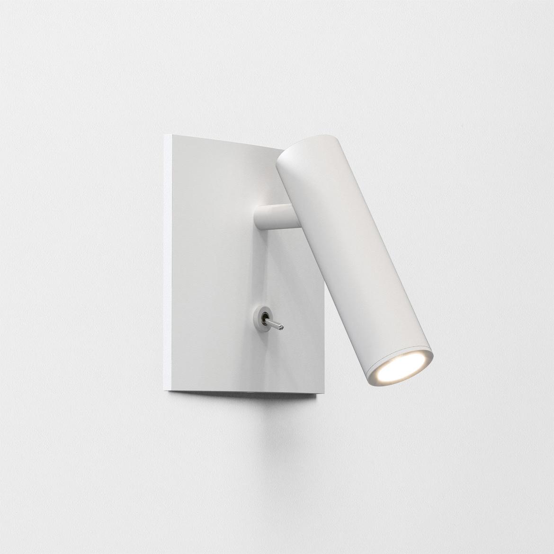 Enna Square Switched LED 4,5W 111lm 2700K CRI90 IP20 süvistatav seinavalgusti, lülitiga, valge