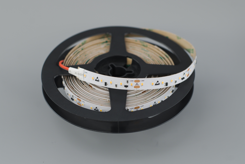 LED riba 120LED/m, 9,6W(840lm)/m, L=5m, 3000K CC (püsivooluga), 24VDC, IP20, CRI90+
