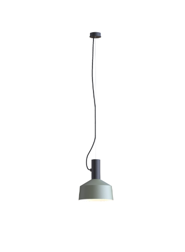 ROOMOR SUSPENDED 1.0 PAR16 Max 15W GU10 LED IP20 rippvalgusti, must, kuppel 2.0 hall
