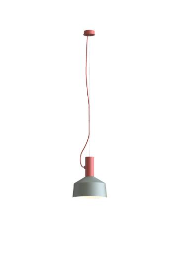 ROOMOR SUSPENDED 1.0 PAR16 Max 15W GU10 LED IP20 rippvalgusti, punane, kuppel 2.0 hall