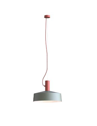ROOMOR SUSPENDED 1.0 PAR16 Max 15W GU10 LED IP20 rippvalgusti, punane, kuppel 3.0 hall