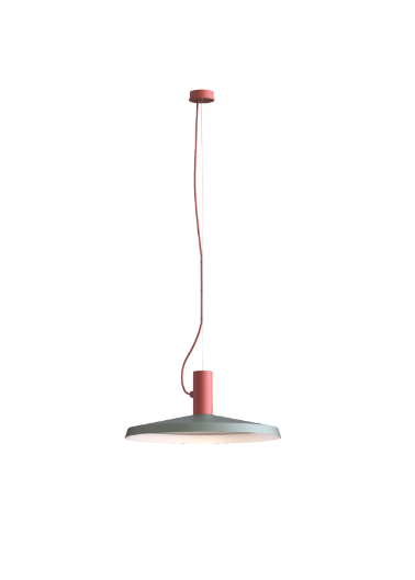 ROOMOR SUSPENDED 1.0 PAR16 Max 15W GU10 LED IP20 rippvalgusti, punane, kuppel 4.0 hall