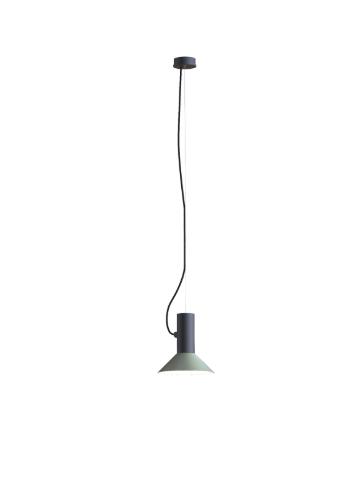 ROOMOR SUSPENDED 1.0 PAR16 Max 15W GU10 LED IP20 rippvalgusti, must, kuppel 1.0 hall