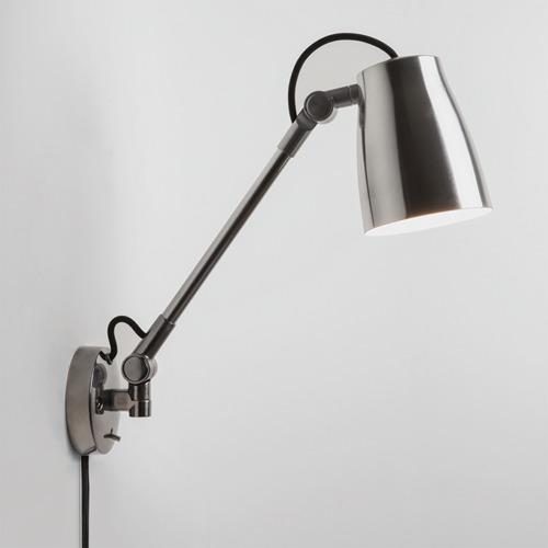 Atelier Grande Wall Max 12W E27 LED IP20 seinavalgusti, lülitiga, hämardatav, poleeritud alumiinium