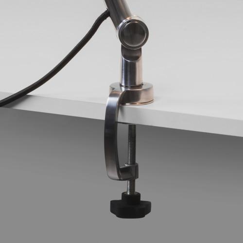 Lauaklamber Atelier valgustile, poleeritud alumiinium