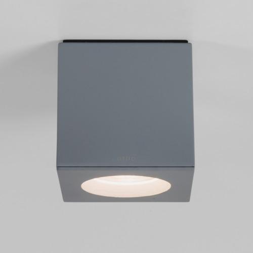 KOS Square LED GU10 1 x 6W / GU10 CFL, alumiinium, välisvalgusti lakke
