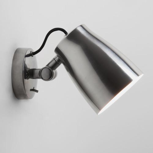 Atelier Wall Max 12W E27 LED IP20 seinavalgusti, lülitiga, hämardatav, poleeritud alumiinium