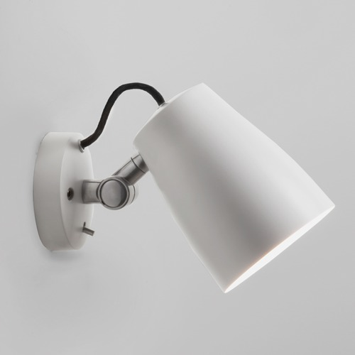 Atelier Wall Max 12W E27 LED IP20 seinavalgusti, lülitiga, hämardatav, matt valge