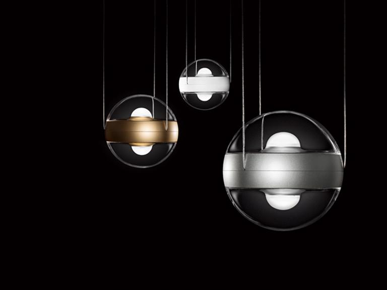 Rippvalgusti SFERICO LED 2x9W 2x1100lm 2800K CRI92 valge / läbipaistev