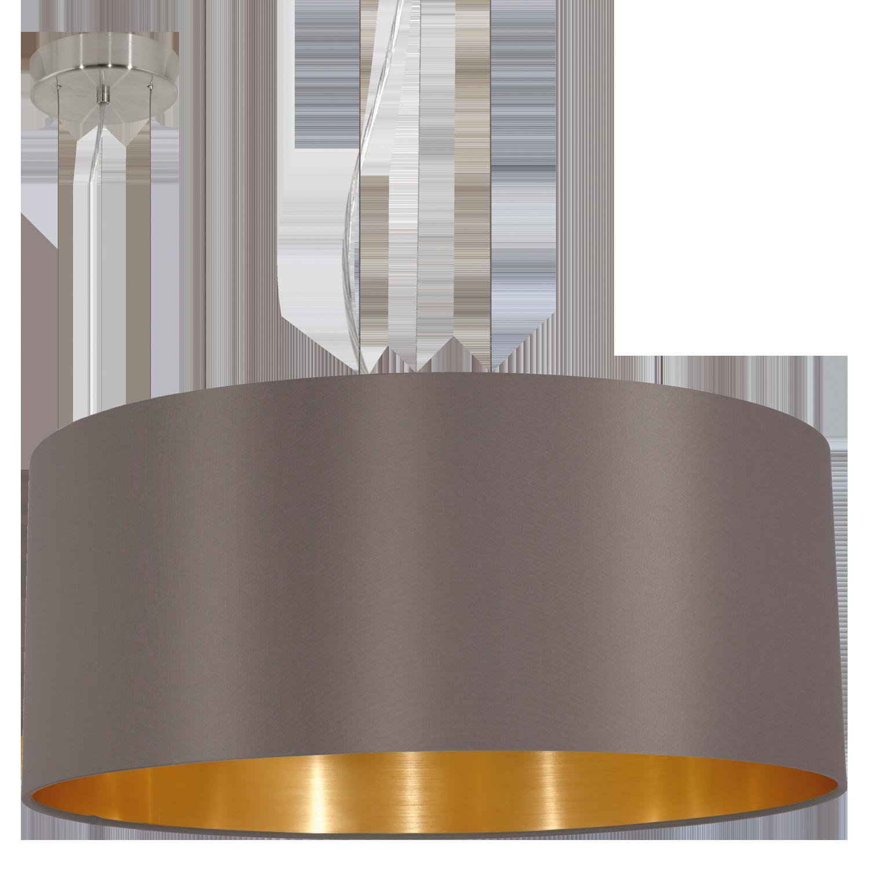 MASERLO Cappuccino/Kuldne 3x60W E27 220-240V