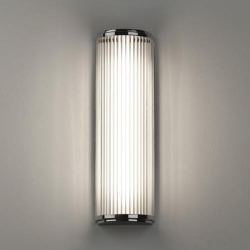 Versailles 400 LED 7,2W 650lm 3000K IP44 vannitoavalgusti, poleeritud kroom, klaasist hajuti