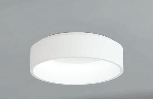 MARGHERA1 LED 25,5W 2850lm 3000K 135 x Ø450mm, metall/plastik, valge