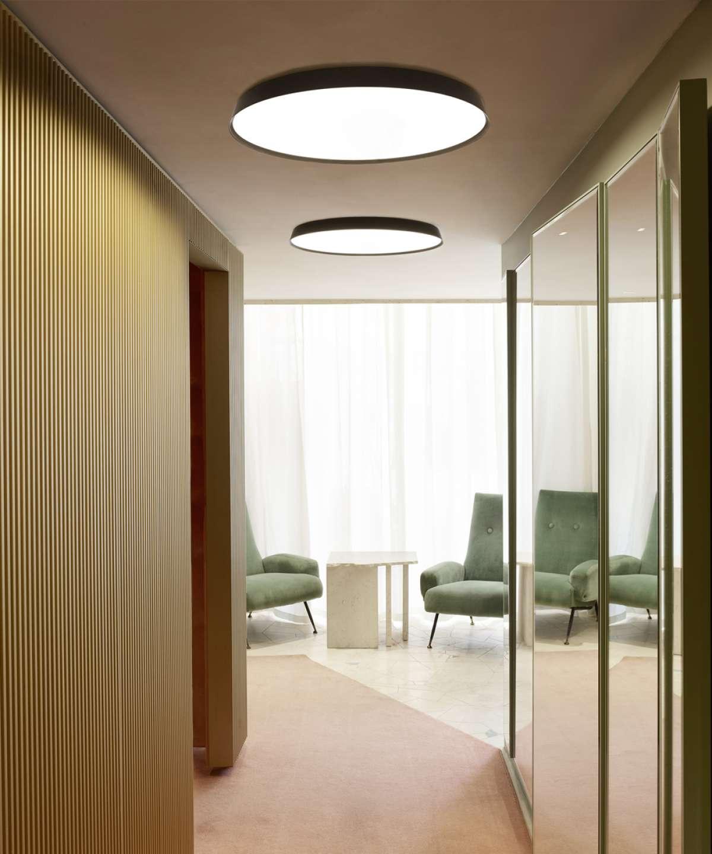 Lae- / seinavalgusti Compendium LED 75W 3753lm 2700K CRI90 alumiinium, must