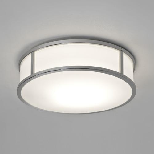 Mashiko 300 Round 1x16W LED, 2700K, 892lm, niiskuskindel vannitoavalgusti IP44, LED liiteseade ja valgusallikas komplektis, poleeritud kroom